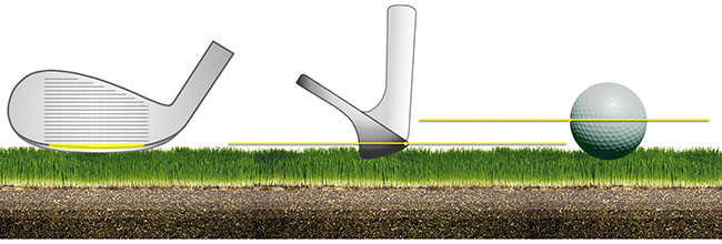 Perfectionnement du pitching sur le fairway avec le sandwedge